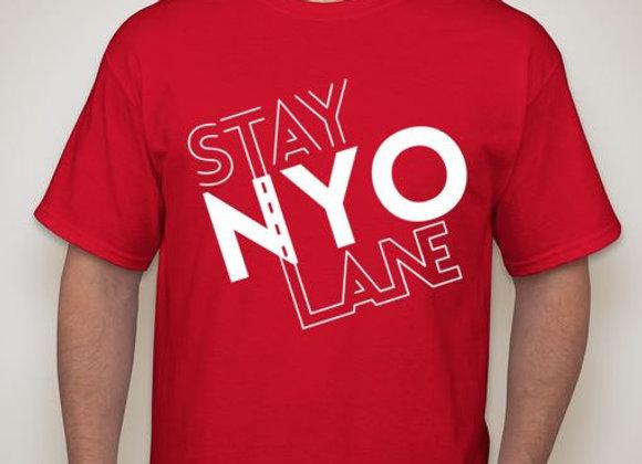 STAY NYO LANE™ custom tee