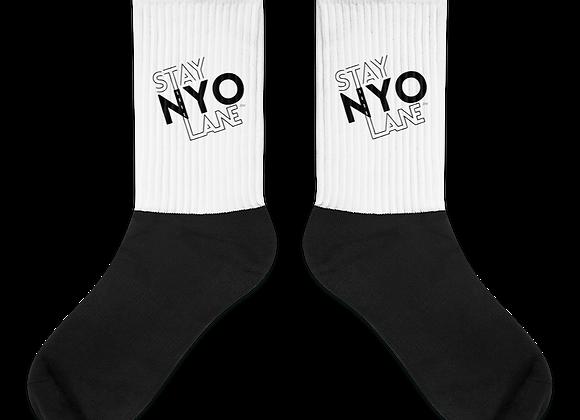 STAY NYO LANE™ crew socks