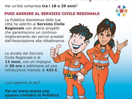 Bando Regionale Servizio Civile