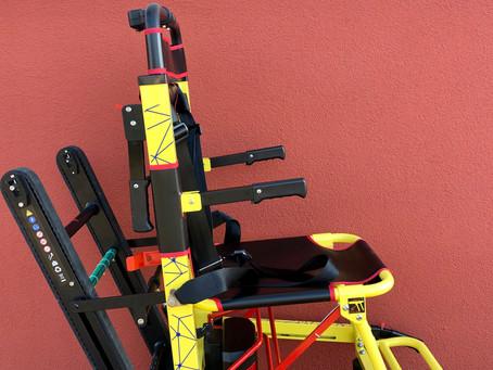La sedia motorizzata per il trasporto di pazienti è già operativa