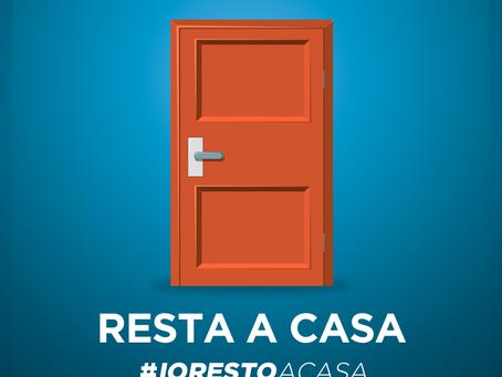 CORONAVIRUS - Decreto #IoRestoaCasa