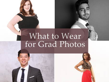 What to Wear for Grad Photos