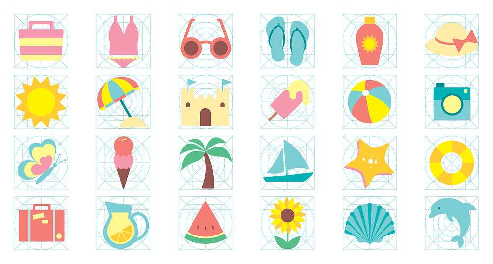 Summer Icons (small)