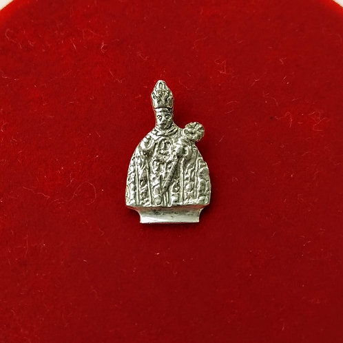 Colgante de San Fermín en plata