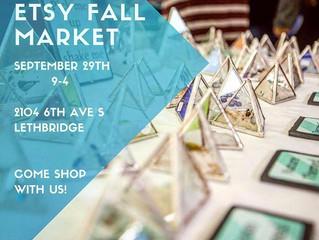 Etsy Fall Market Lethbridge