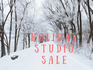 Holiday Studio Sale