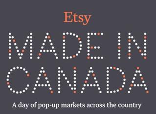 Etsy Made In Canada Fall Market