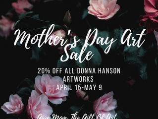 Mother's Day Art Sale