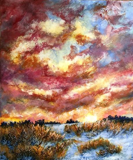 Red Prairie Sky