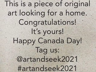Happy Canada Day with Art And Seek 2021