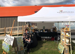 Art In The Park - and Gratitude