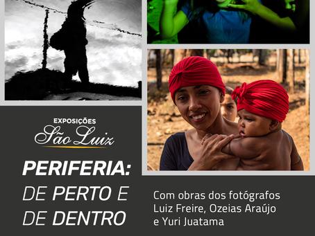 Cineteatro São Luiz estreia exposição que revela o cotidiano da periferia por diferentes olhares