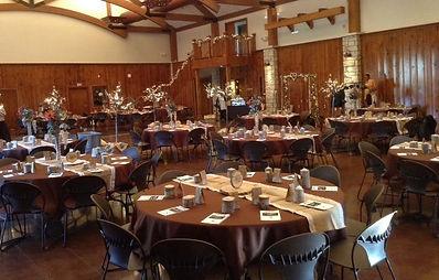 leawood wedding venue lodge at ironwoods