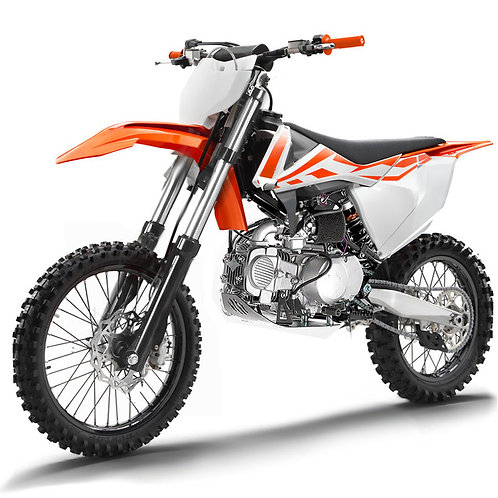 Pitbike Zeus 110cc semi-automatica