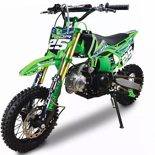 Pitbike Thor 110cc automatica con accensione elettrica