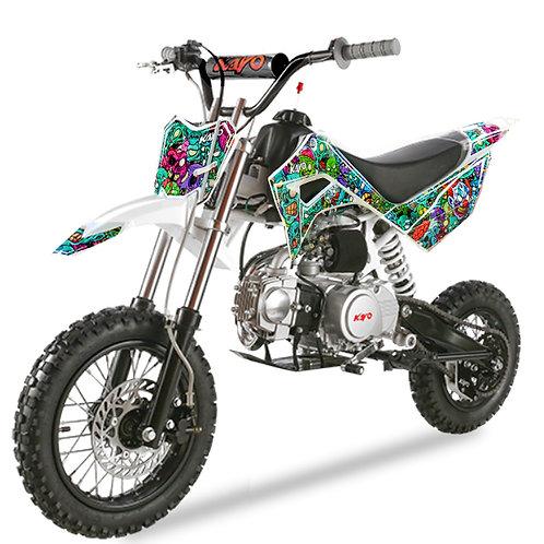 Pitbike Kayo 110cc ruota 14/12 TSD-F110(M)