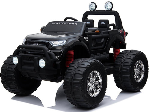 Monster truck Ford Ranger 4x4 con ruote in gomma