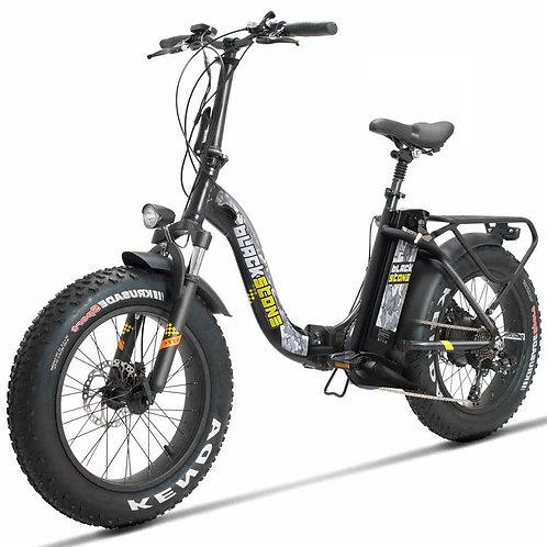 Bicicletta elettrica FAT blackstone