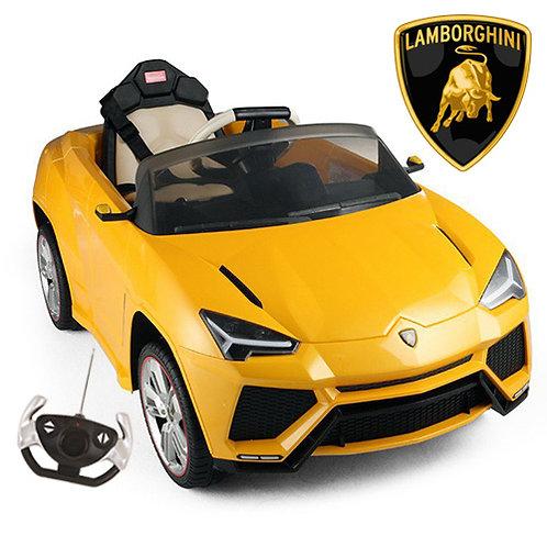 Lamborghini Urus Gialla 12v Macchina Elettrica per Bambini