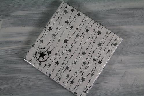 Papierservietten mit Sternen
