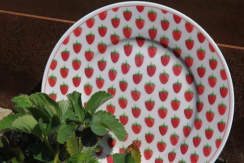 Dessertteller - Erdbeeren