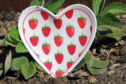 Schäleli - Erdbeeren - in Herzform