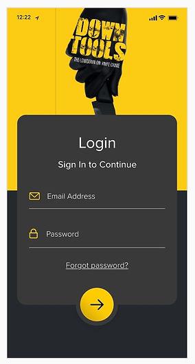 App log in page.jpg