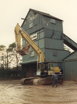 An excavator?
