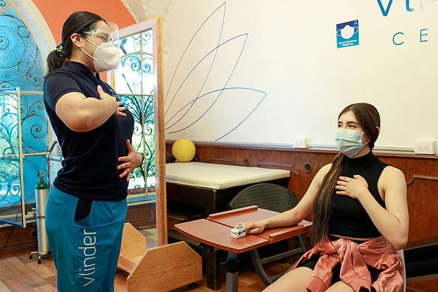 Rehabilitación funcional pulmonar Post C