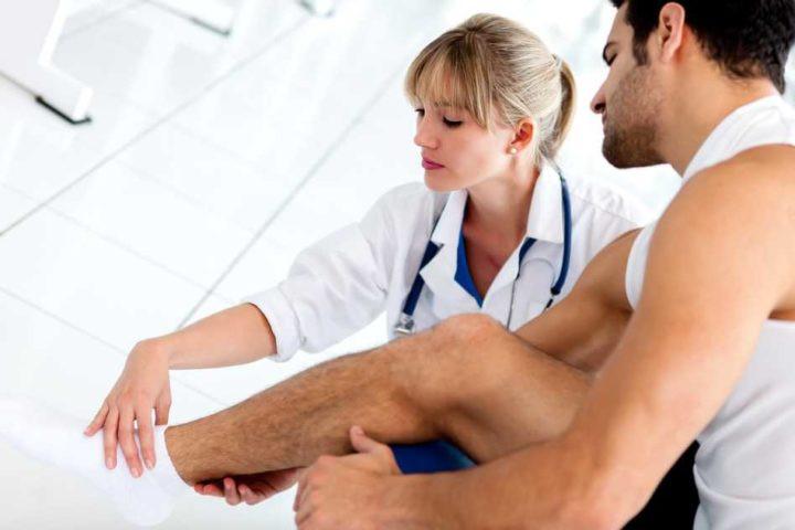 Tratamiento lesión muscular DF
