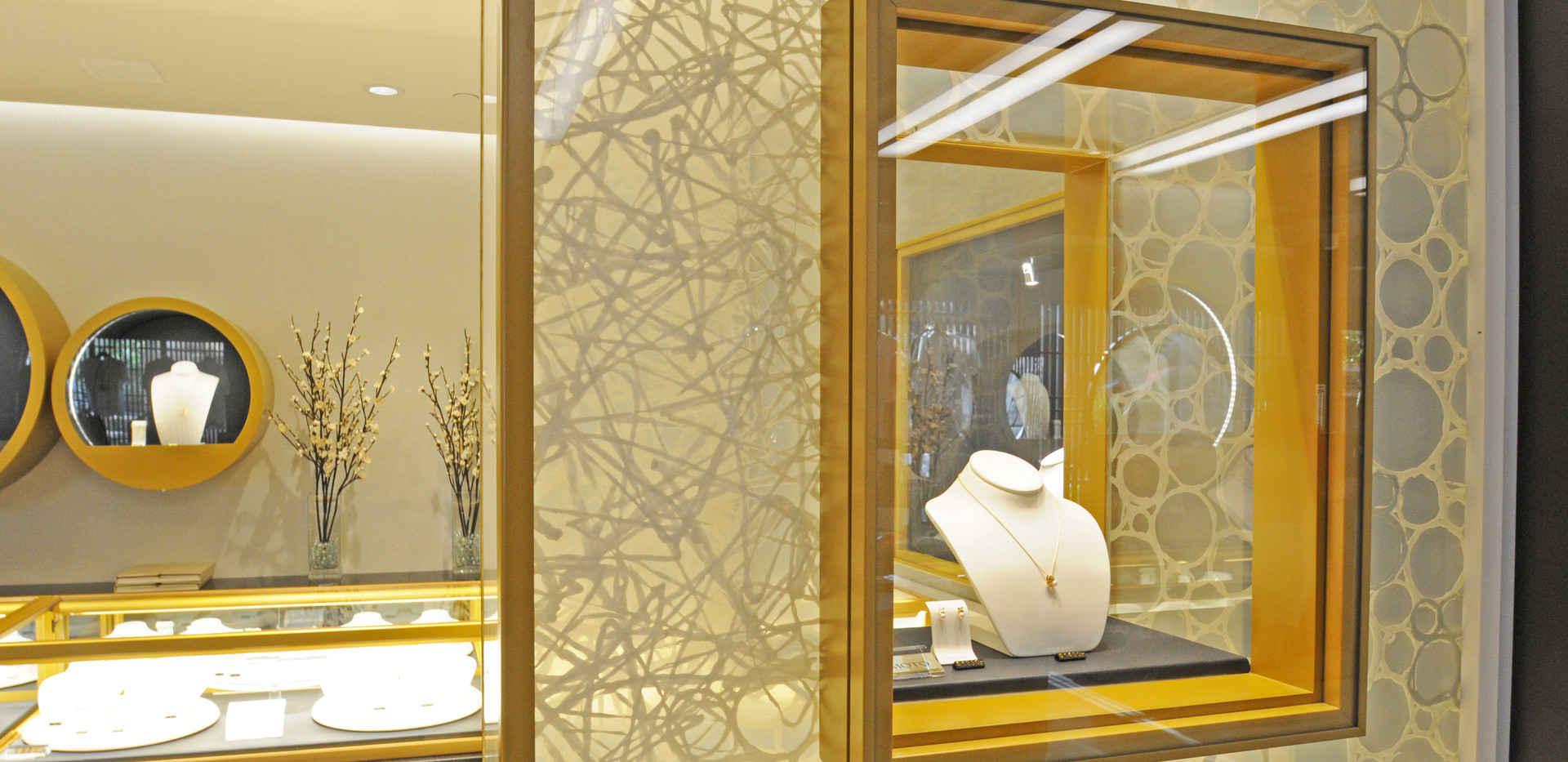 Mitsukoshi Jewelry Display