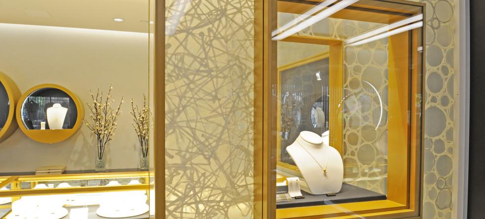 Mitsukoshi Jewelry Display