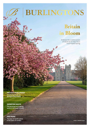 Burlingtons Magazine 04: Stepping into spring with the best of London and beyond