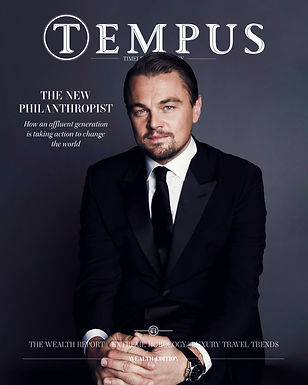 Tempus 64: Leonardo DiCaprio is our cover star as we celebrate the rise of conscious capitalism