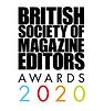 BSME Awards 2020 shortlist editor of the year logo