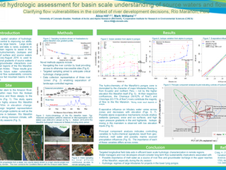 Rapid hydrologic assessment for basin scale understanding of source waters and flow paths- GSA 2016