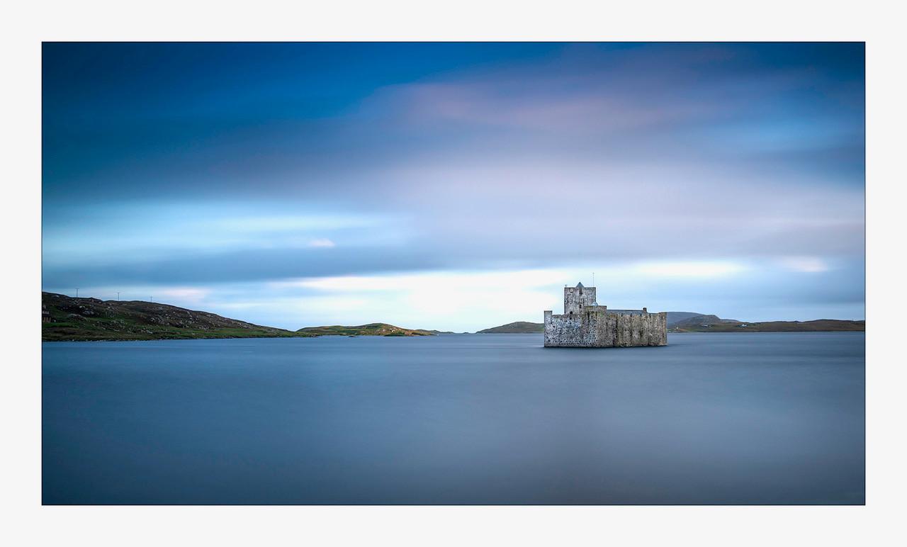 COLOUR - Castlebay, Isle of Barra by Brian Shields (12 marks)