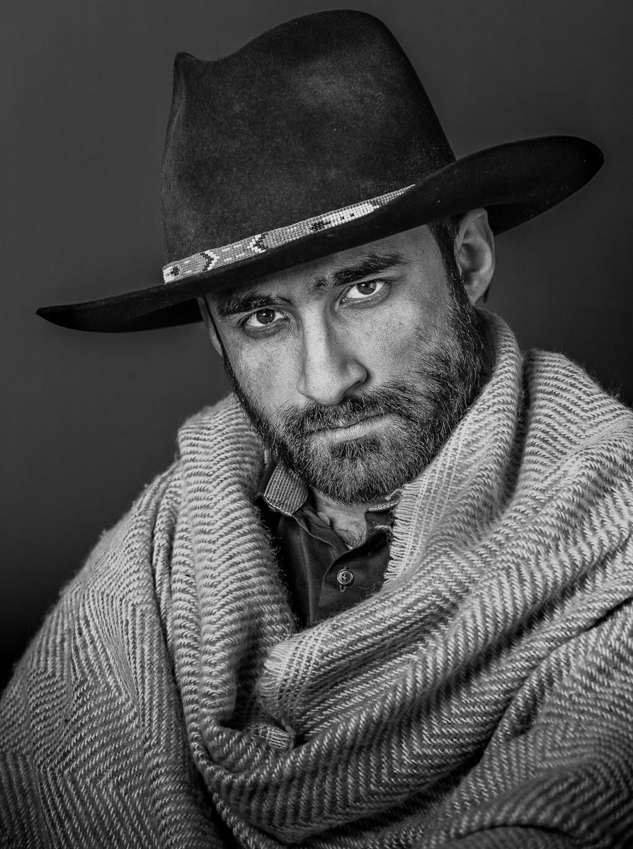 MONO - Urban Cowboy by Terry Hanna (13 marks)