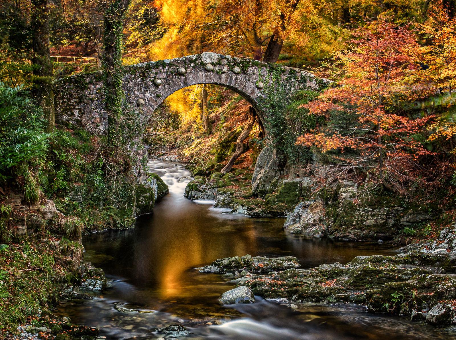 'Foley's Bridge' by Terry Hanna (12 marks)  -  Ballynahinch Camera Club