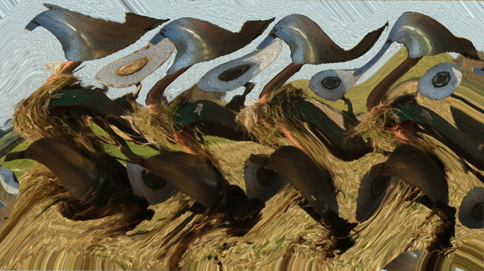 'On the Land' by John Knipe (9 marks)