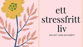 Skapa en vision för det stressfria livet.
