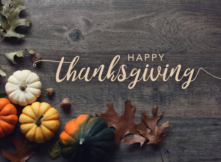 REMINDER Altered Thanksgiving Delivery Schedule