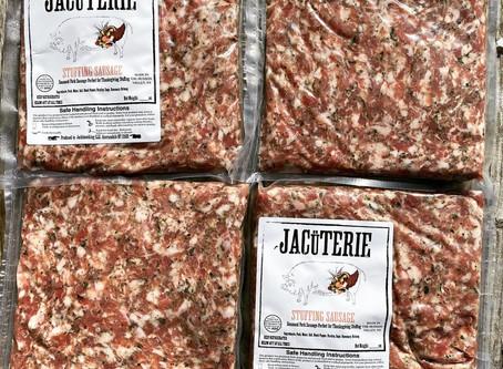 Jacüterie Thanksgiving Stuffing Sausage