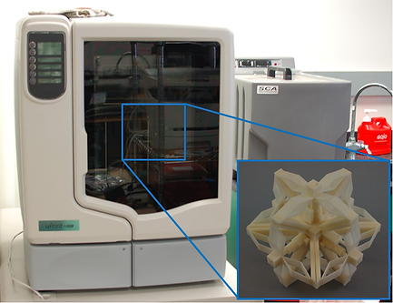 Flexible Structure Mechanism and Material 3D printer Fused Deposition