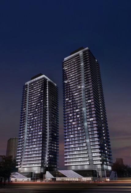 Falcon Towers Night