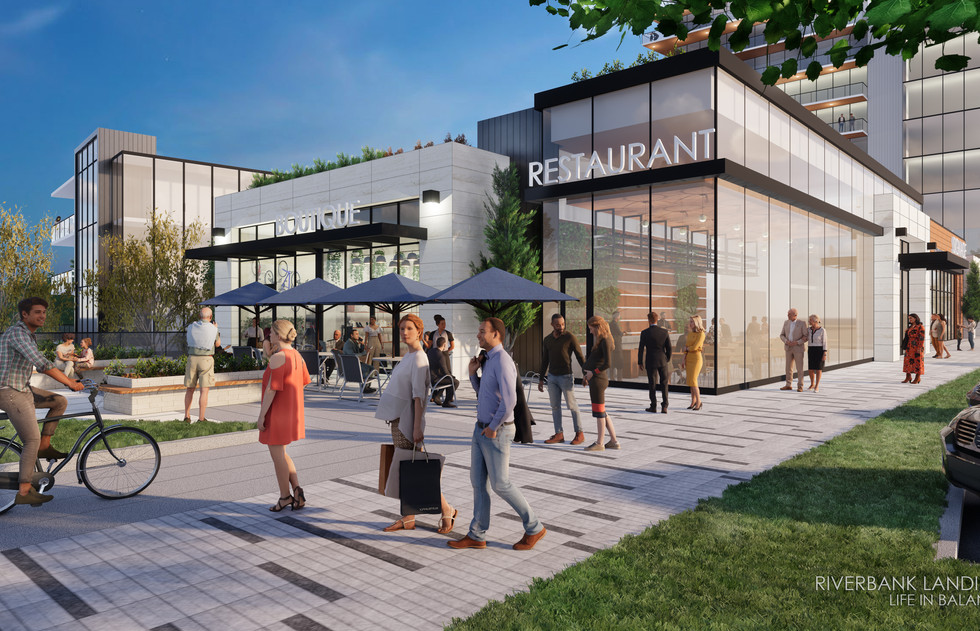 Riverbank Landing Plaza