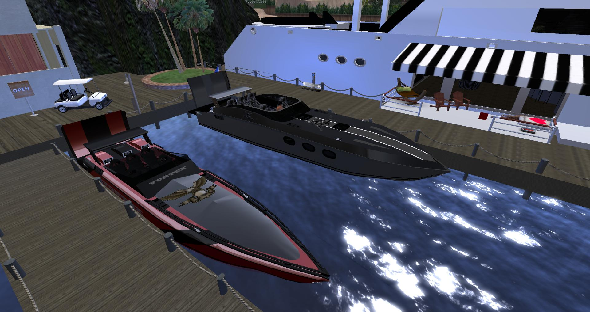 3D-POWER BOATS
