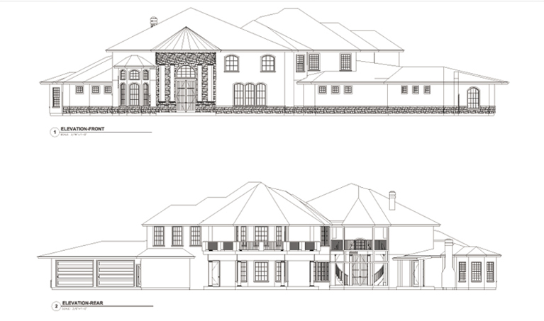 CCHD-006 FRNT&REAR ELEVATION