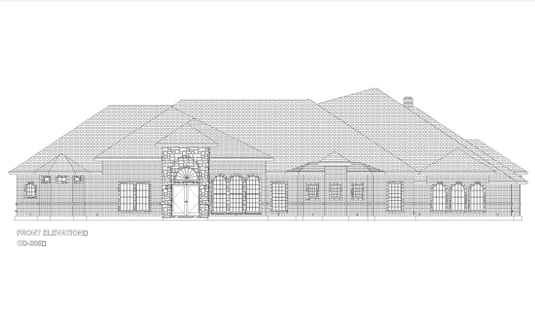 CD205-FRONT ELEVATION
