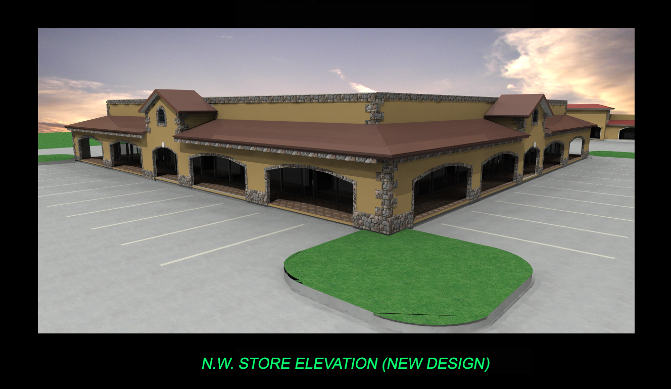 FRONT STORE ELEVATION-3